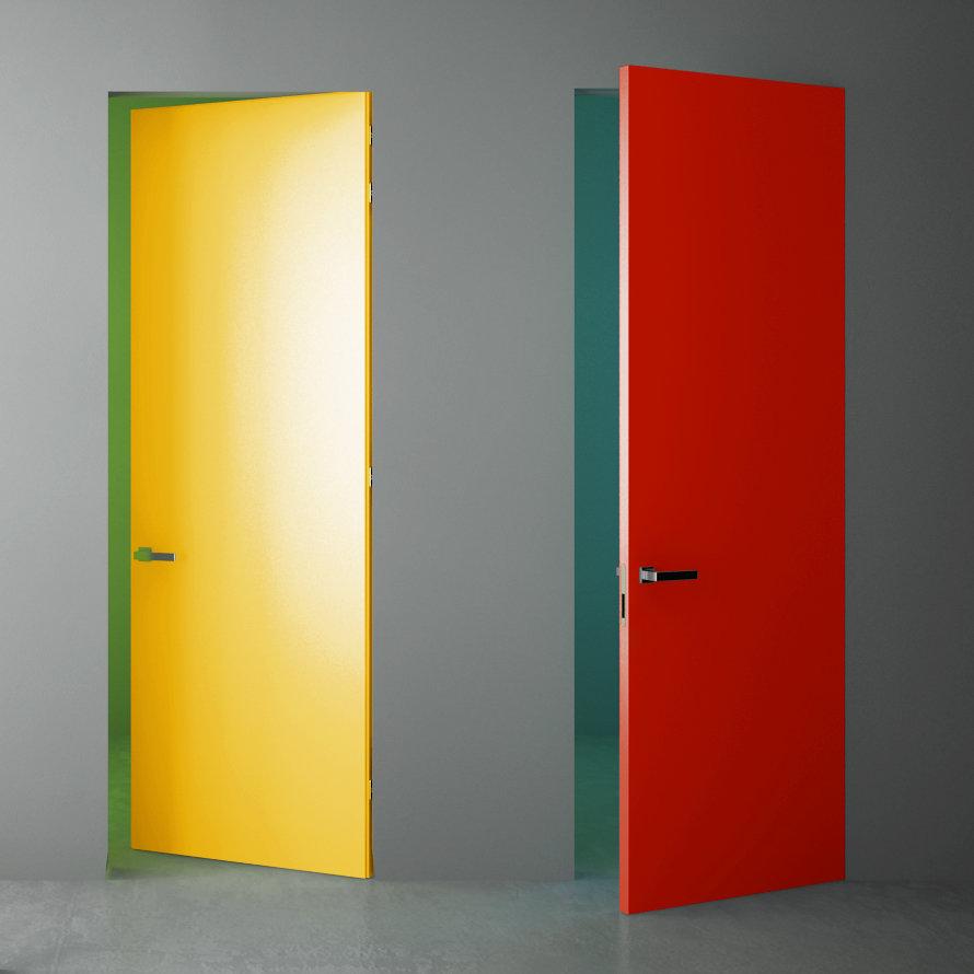 Scegli la laccatura per la tua porta raso muro