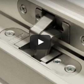 Porte e sportelli PannelloFilomuro: video particolari tecnici