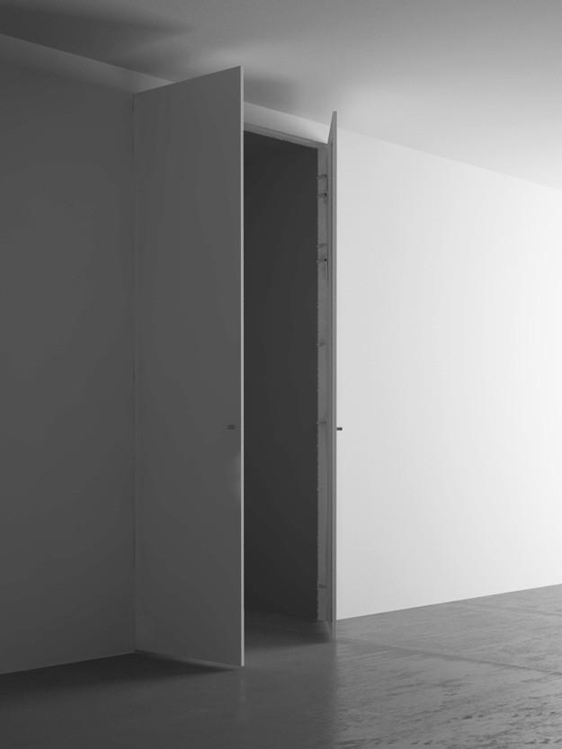 Armadio a muro 2 ante cm 110×260 - Pannellofilomuro.it