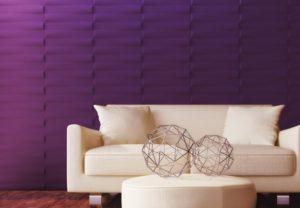 Decorare le pareti del soggiorno: 3 tendenze per il 2017