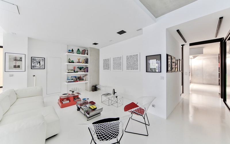 Interior design total white: come arredare la casa.