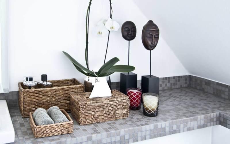 Arredo bagno come tenere in ordine il bagno idee design for Cesti in vimini ikea