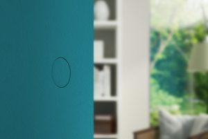 Porte filomuro senza maniglia: impeccabile effetto parete.