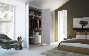 Cabina armadio filo muro: vantaggi e requisiti nell'arredamento.