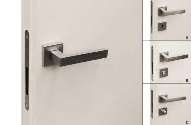 Maniglia Quadra per porte invisibili