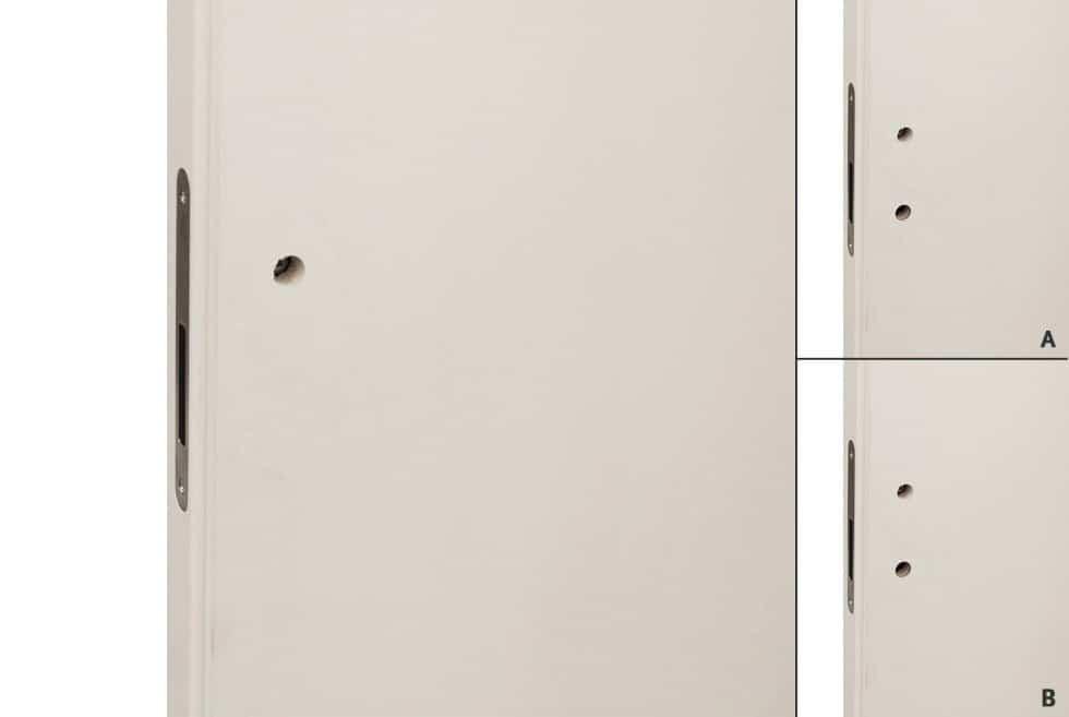 maniglia predisposizione per porte invisibili